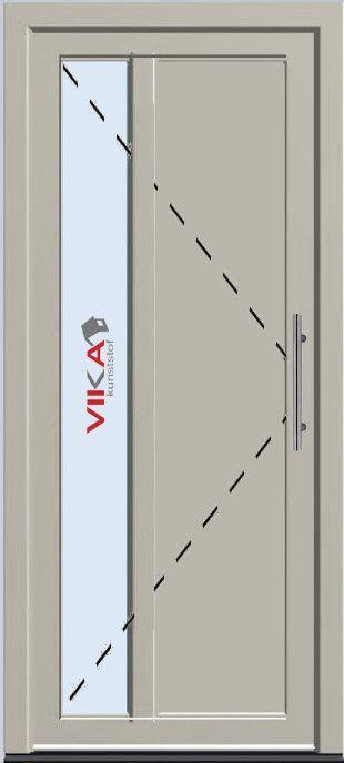 'Basis voordeur' kunststof deur