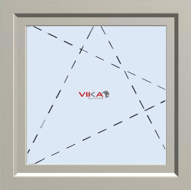 test 'Draai / kiep raam' kunststof kozijn