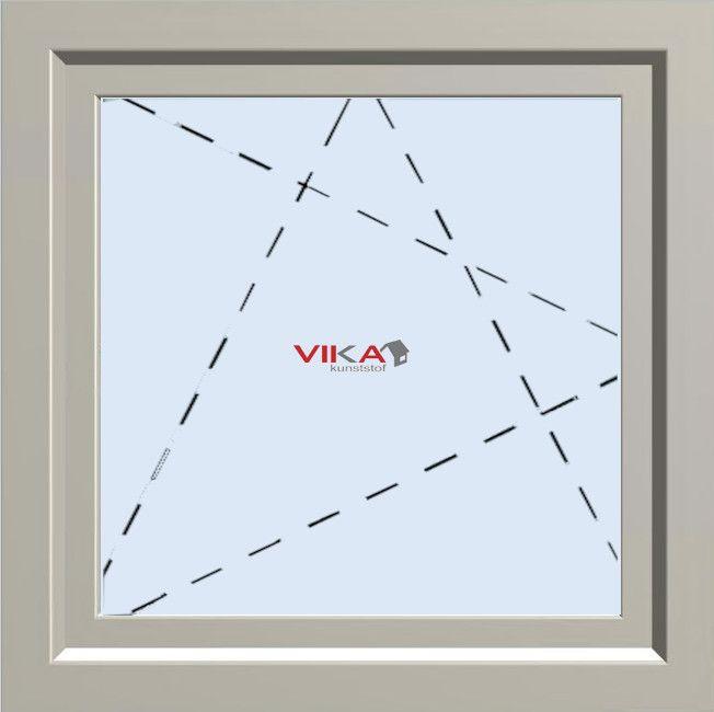 'Draai / kiep raam' kunststof kozijn