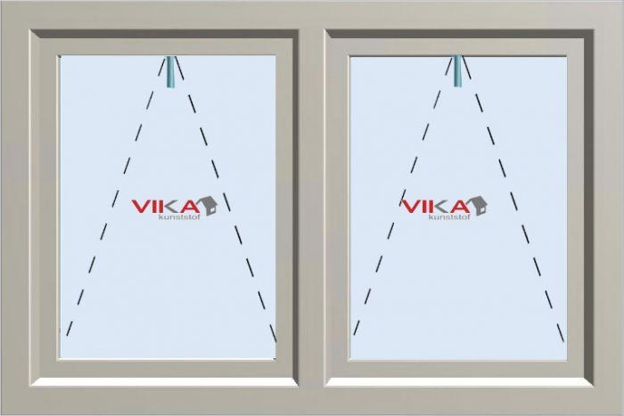 'Val - Val raam' kunststof kozijn