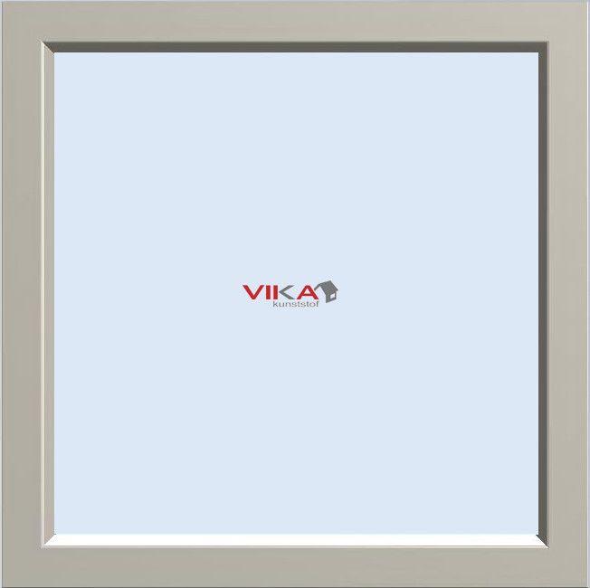 'Vast raam' kunststof kozijn