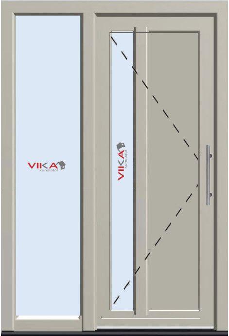 'Basis voordeur met zijlicht